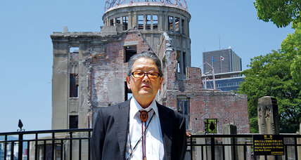 Keisaburo Toyonaga helps Koreans and other non-Japanese atom bomb survivors