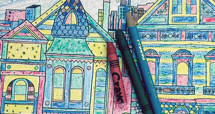 Adults rediscover the pleasure of coloring books