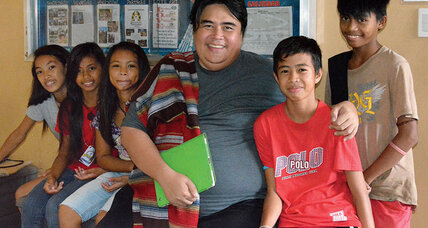 Harnin Manalaysay is a father figure for hundreds of Filipino street children