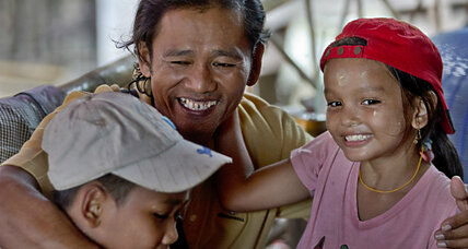 22 years a slave: Myanmar fisherman goes home
