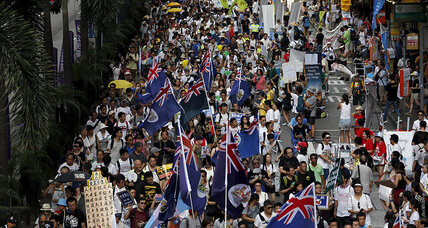 Why Hong Kong demonstration lacked fervor of recent years