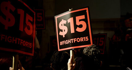 Chicago implements $10 minimum wage. Other cities aim for $15 by 2020.
