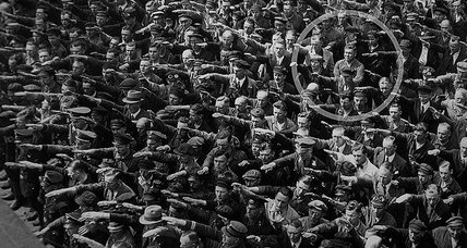What happened to the man who refused to give a Nazi salute