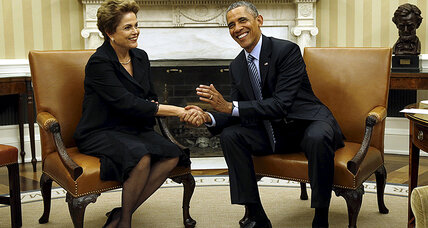 Trouble at home: Why Brazil's Rousseff needed US state visit (+video)