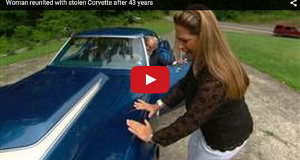 Woman reunited with her stolen C3 Corvette after 43 years
