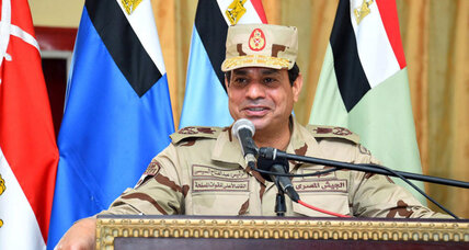 "Egypt's president claims security is ""completely stable"" after Sinai attacks"