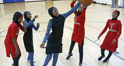 Minneapolis Muslim girls design their own modest sportswear