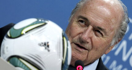 FIFA's Blatter: France, Germany try to put political pressure on World Cup votes