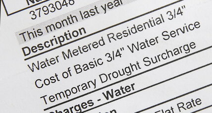 Californian cities hike up water rates while customers conserve amid drought