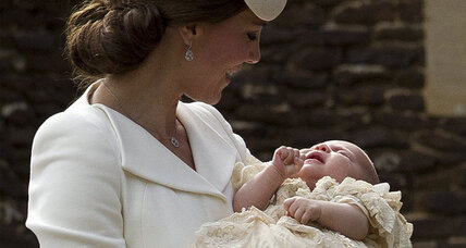 Princess Charlotte to have five godparents, none of them royals (+video)