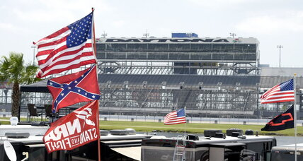 NASCAR fans defend, display Confederate flags at Daytona (+video)