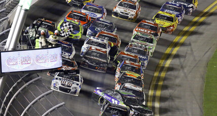 'Awful' crash, Confederate battle flags mar landmark NASCAR race