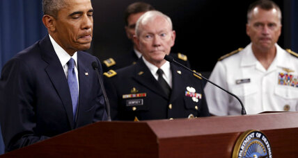 Obama on fighting Islamic State: 'It will take time to root them out'