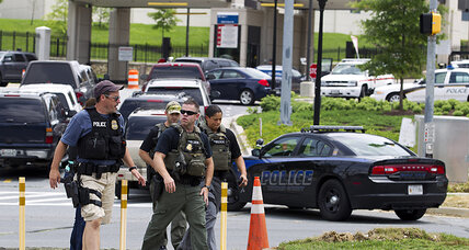 Report of gunfire at Walter Reed was false alarm, officials say