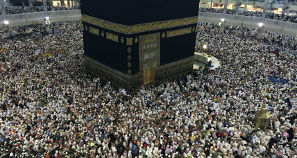 Mecca, thronged by pilgrims, builds to accommodate more worshippers