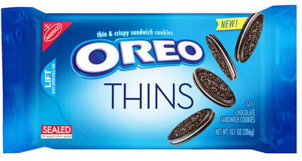 Oreo Thins: less Oreo, same price
