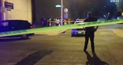 Latest Baltimore shooting brings city's 2015 homicide total to 154