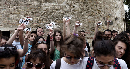 Greek youth, once bastion of EU support, sour on membership