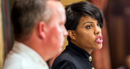 Why Baltimore mayor fired police commissioner (+video)