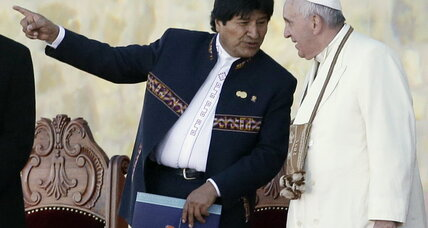 Pope Francis insists on church's influence in Bolivia amid government efforts to rebuff
