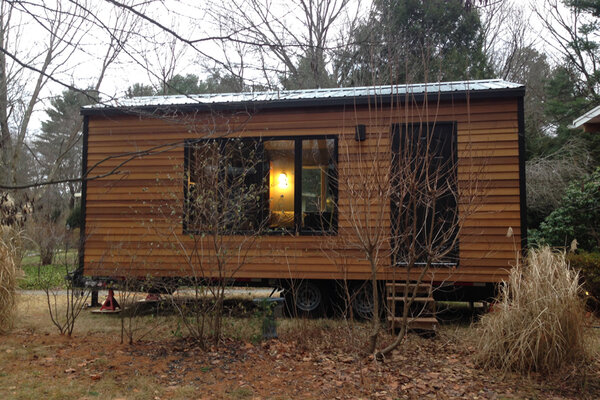 the tiny house movement is social movement where people are downsizing the space they live in because of environmental or financial concerns