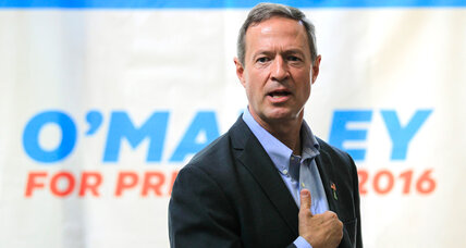 O'Malley elbows his way left of Clinton: Will it matter?