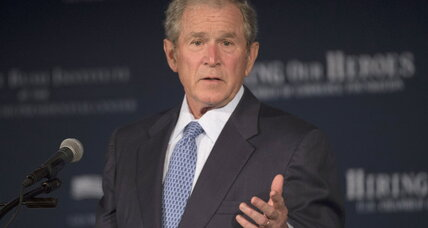 George W. Bush charges vets group $100,000 for speech. Too much?