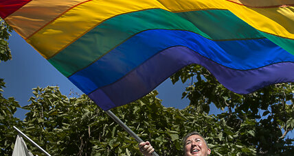 Why Russia's ruling party unveiled a 'flag for straights'