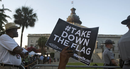 South Carolina prepares to relocate Confederate flag – one mile away