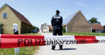Drive-by shooting in Germany, one of the world's strictest on gun control