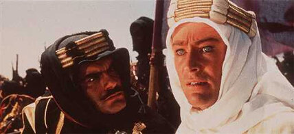 Omar Sharif starred in acclaimed films 'Lawrence of Arabia' and 'Doctor Zhivago'