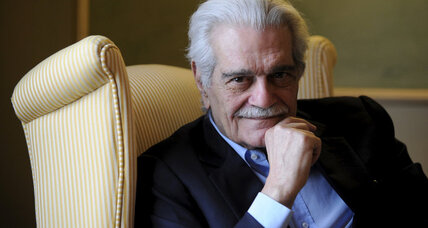 Omar Sharif was an international icon, legend of silver screen