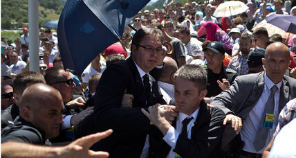Why Serbian prime minister's gesture of reconciliation was rejected (+video)