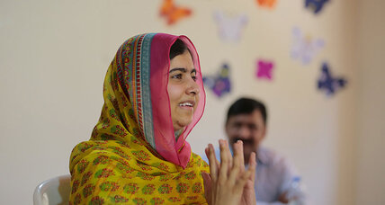 On 18th birthday, Malala opens school for Syrian refugees