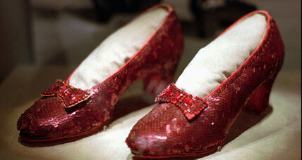 Where are Dorothy's ruby red slippers? A $1-million reward offered.