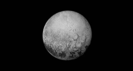 NASA probe reveals strange, evenly spaced features on Pluto