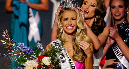 Miss USA crowned: What did she say about race relations? (+video)