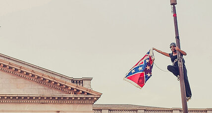 #NoFlaggingChallenge dares people to tear down others' Confederate flags