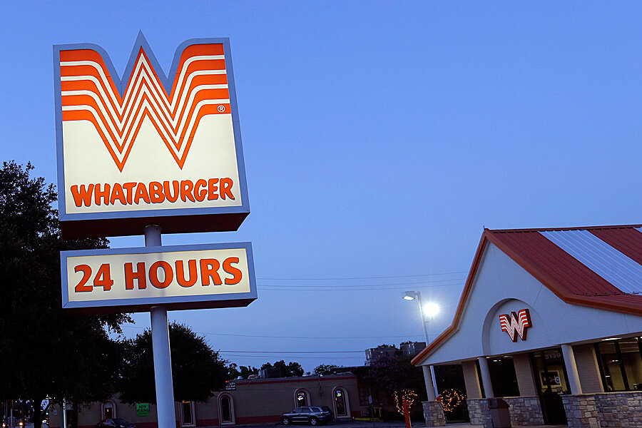 Free Whataburger For Tuesday Sure For Years Wow CSMonitorcom - Whataburger us map