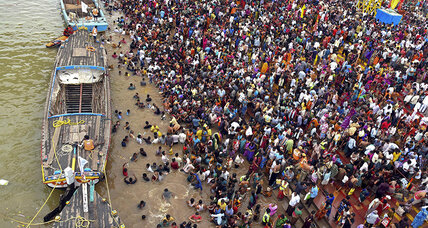 At least 27 killed by stampede during Indian religious bathing ceremony