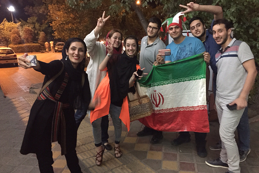 iranians iran tehran streets young celebrate boys six modern sought opening csmonitor either animals these east july