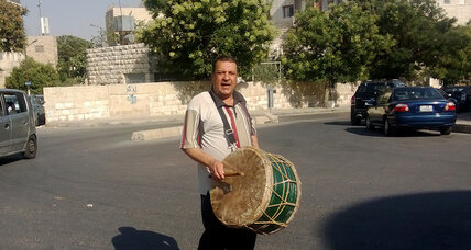 In Jordan, drum bangs slowly for a fading Ramadan tradition