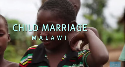 Too young to wed: Malawi chief sends married children back to school