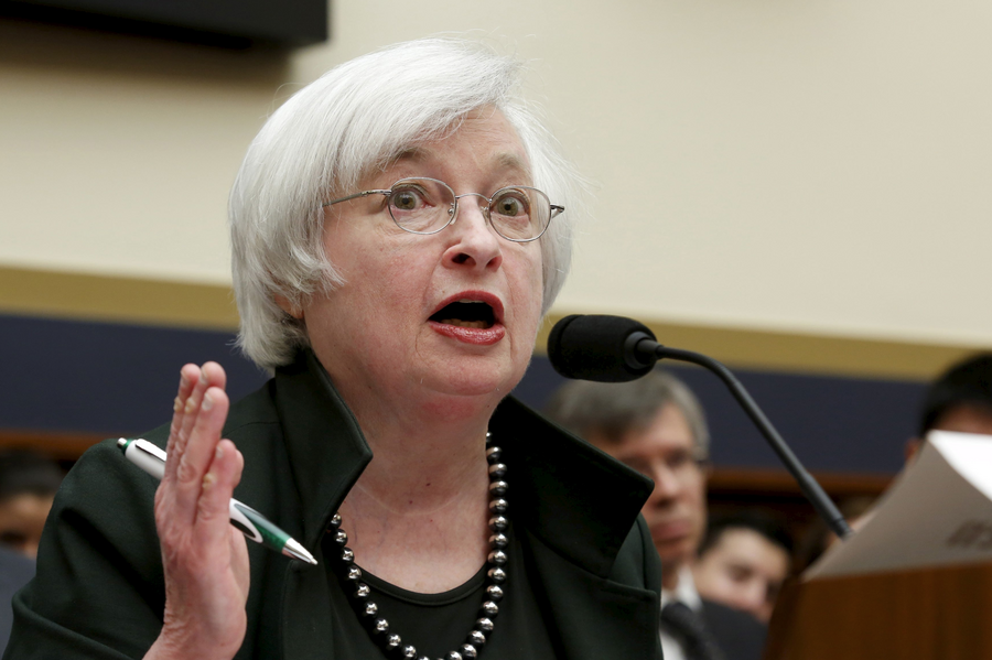 Janet Yellen defends Federal Reserve policies from critical