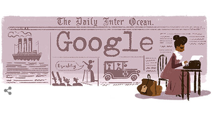 Google doodle honors civil rights crusader Ida B. Wells