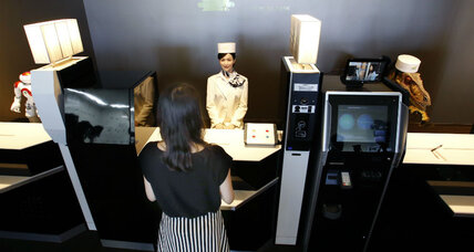 Robots to staff Nagasaki hotel. Why is Japan embracing its new workforce?