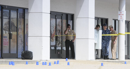 4 Marines killed, gunman dead in Tennessee military shootings