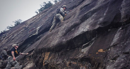 In historic first, three women tackle Ranger School's grueling mountain phase