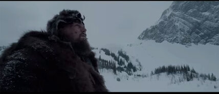 Leonardo DiCaprio in 'The Revenant': An Oscar contender?