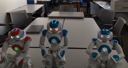 Experimental robot shows signs of self-awareness